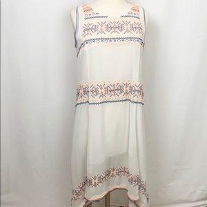 Tularosa Cream Canyon Dress Revolve Midi